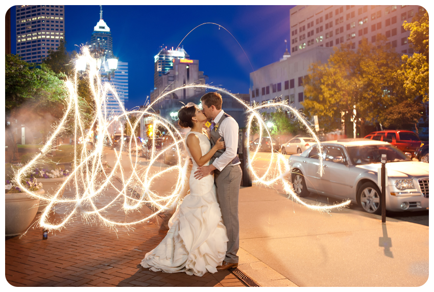 Brad and Brianne's Indiana Historical Society Wedding